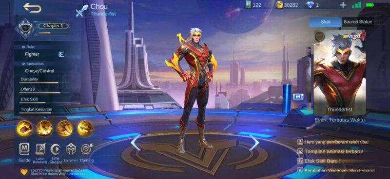 Counter Floryn ML Chou Mobile Legends