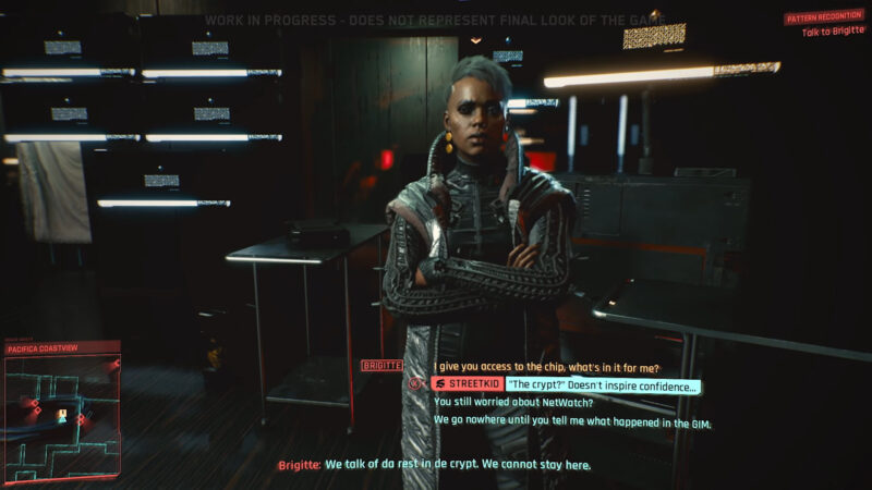 Cyberpunk 2077 A Variety Of Dialogue Choices