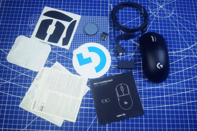Logitech G Pro X Superlight Box Isi Gamedaim Review