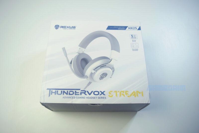 Rexus Thundervox Stream Hx25 Box Gamedaim Review