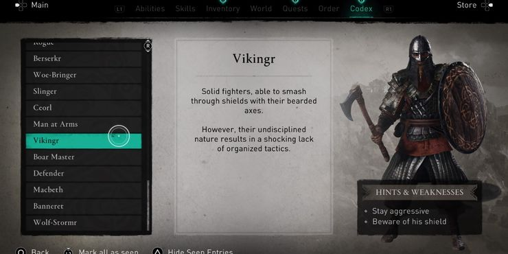 musuh Assassin's Creed Valhalla Vikingr