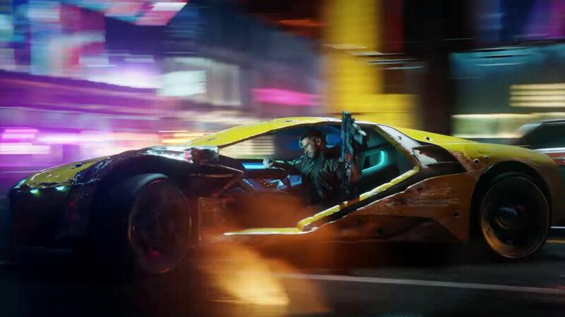 Rayfield Caliburn, mobil tercepat pada game Cyberpunk 2077 | CD Project Red