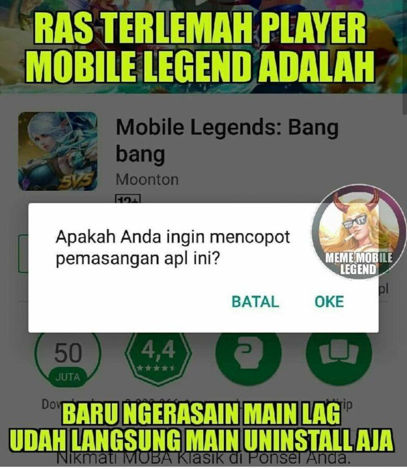 20 Meme Lucu Mobile Legends (ml) Bikin Ngakak! 8