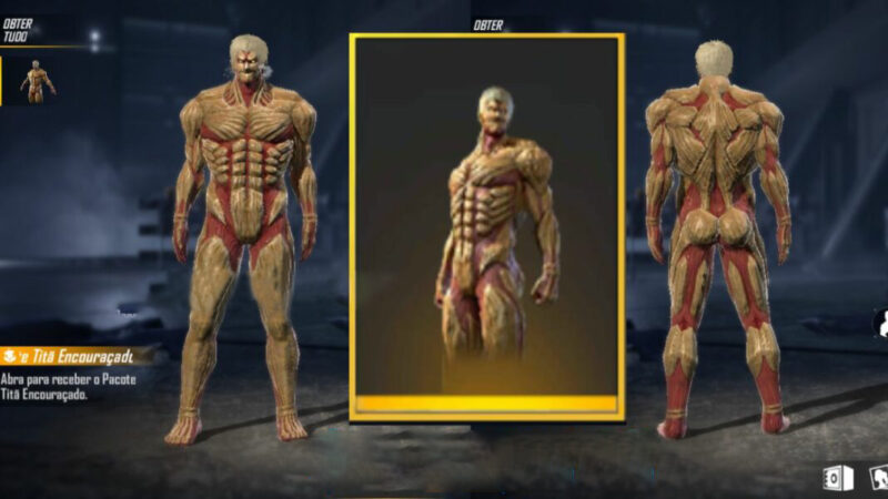 Armored Titan Free Fire