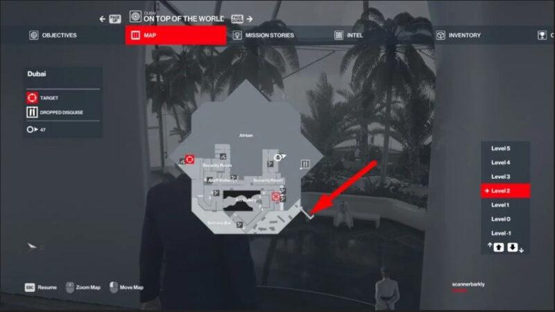 Lokasi Kunci Helikopter Pada Map Dubai Hitman 3 | Gamepur