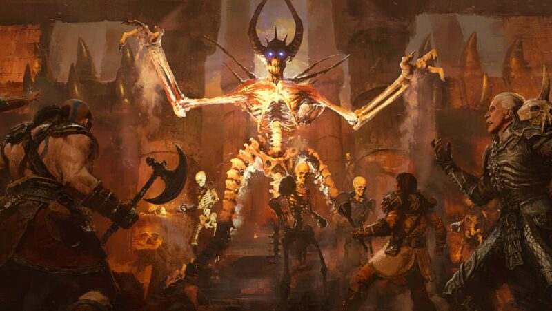Diablo 2 Resurrected Termasuk Dlc Lords Of Destruction 1 1