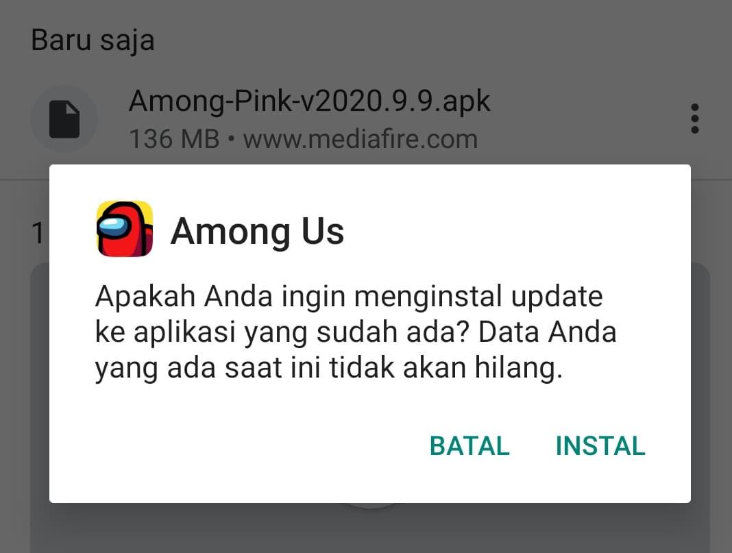 Download Among Us Pink Mod Apk Terbaru 2021 Install