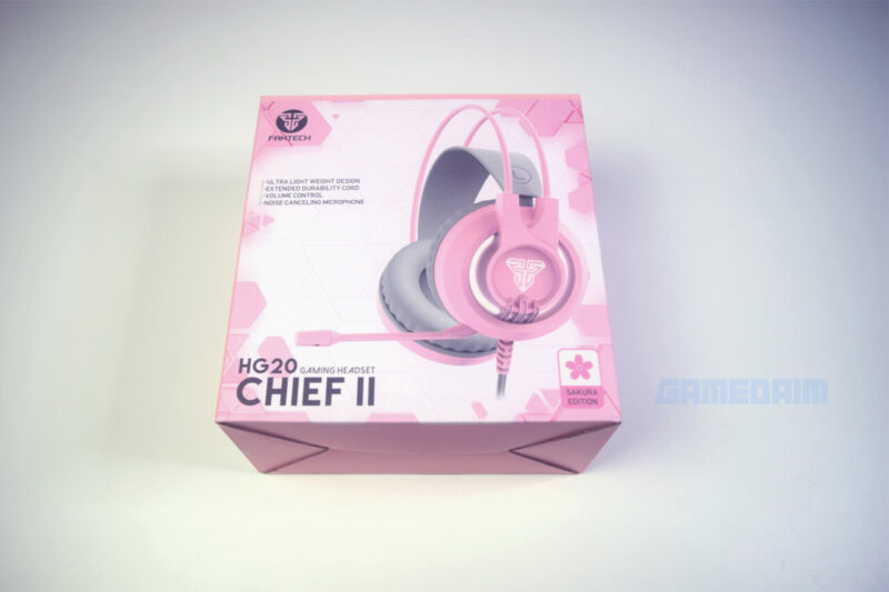 Fantech Sakura Lite Edition Headset Chief 2 Hg20 Box Gamedaim Review