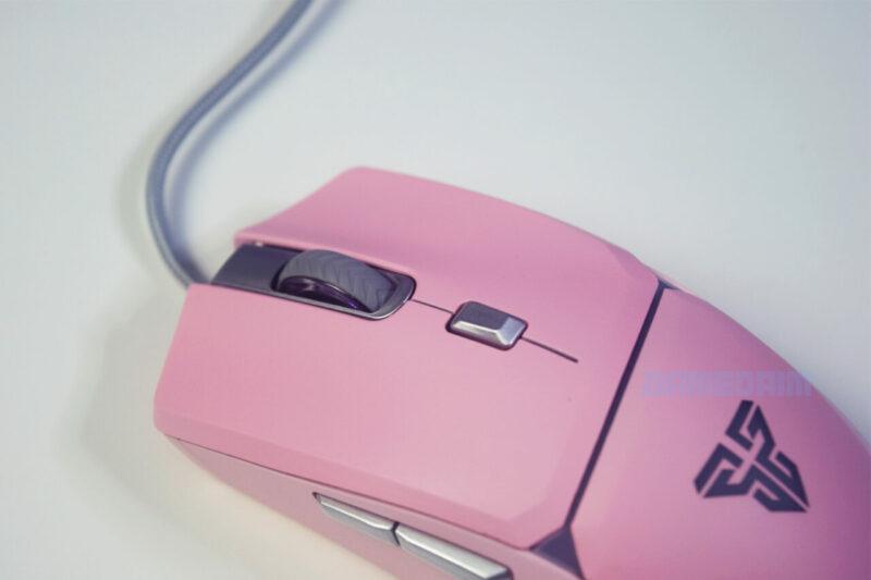 Fantech Sakura Lite Edition Mouse Crypto Vx 7 Tombol Gamedaim Review