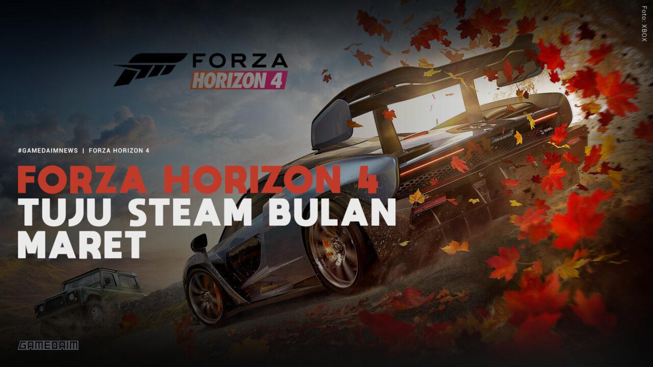 Forza Horizon 4 Tuju Steam Bulan Maret 2021 Gamedaim