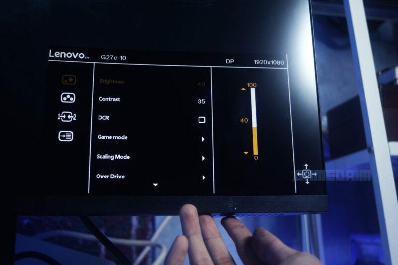 Lenovo G27c 10 Osd Menu Gamedaim Review