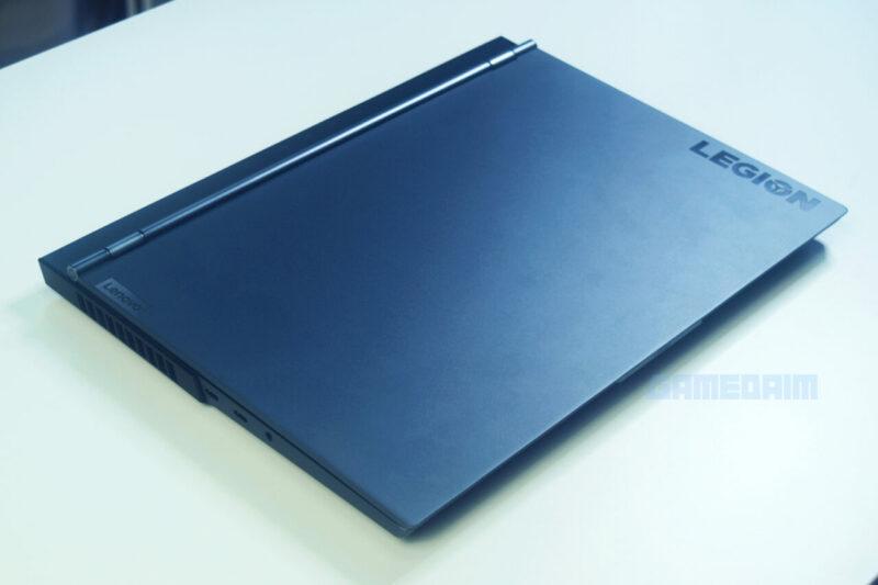 Lenovo Legion 7i Laptop Side View 2 Gamedaim Review