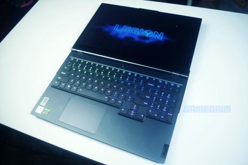 Lenovo Legion 7i Laptop Tiduran Gamedaim Review