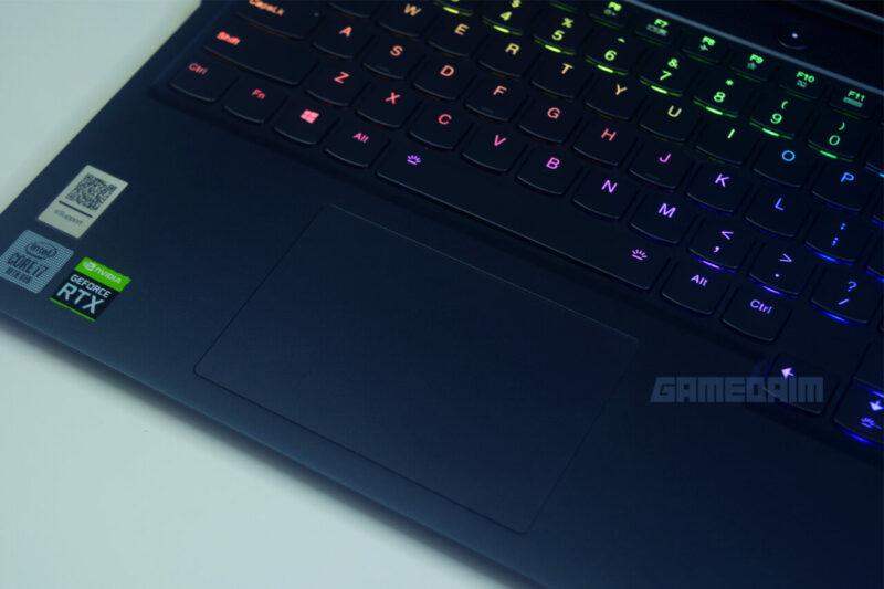 Lenovo Legion 7i Touchpad Gamedaim Review
