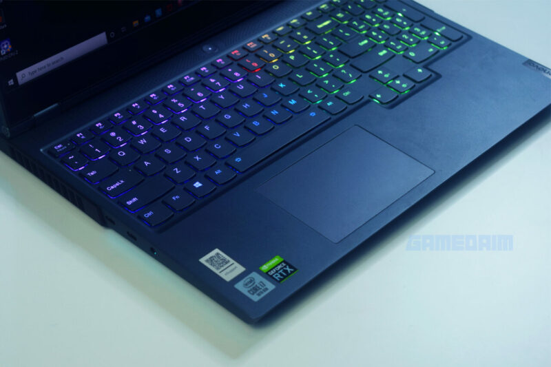 Lenovo Legion 7i Truestrike Keyboard Gamedaim Review