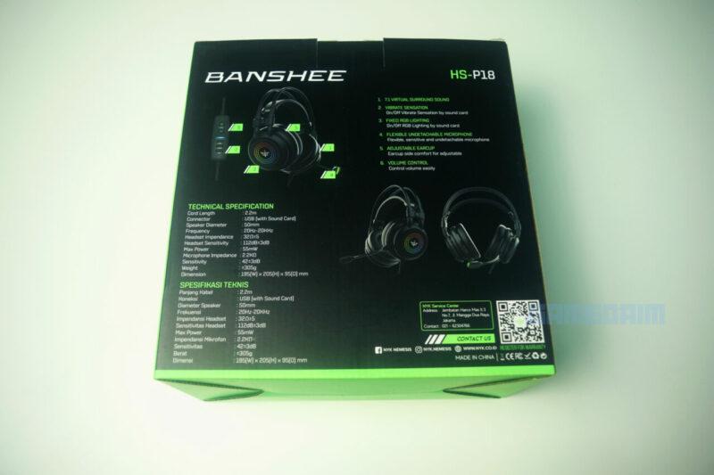 Nyk Nemesis Hs P18 Banshee Box Belakang Gamedaim Review