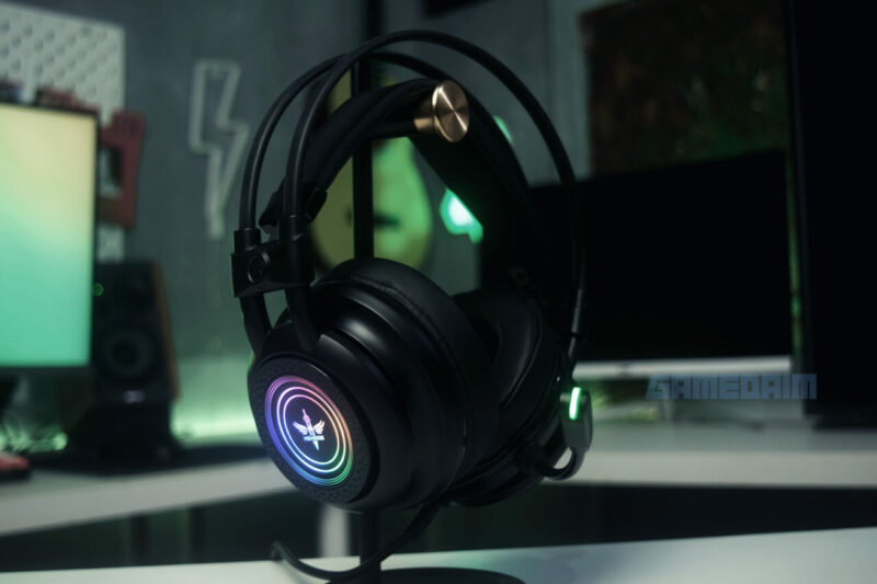 Nyk Nemesis Hs P18 Banshee Headset Rgb Gamedaim Review