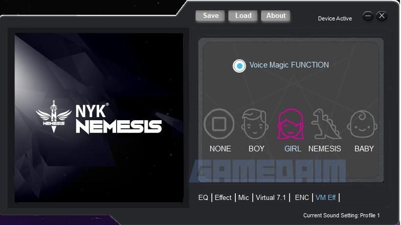 Nyk Nemesis Hs P18 Banshee Software Voice Changerl Gamedaim Review