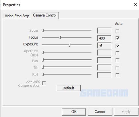 Rexus Alva Obs Pengaturan Camera Control Gamedaim Review