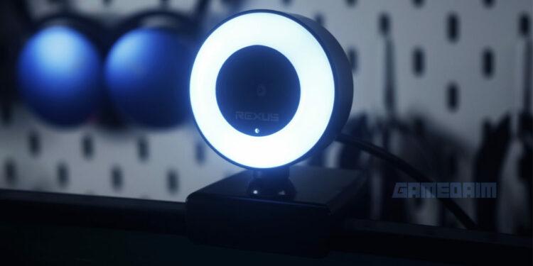 Rexus Alva Webcam Monitor Very Close Up Gamedaim Review