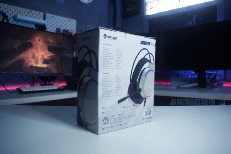 Rexus Thundervox Hx9 Box Belakang Gamedaim Review