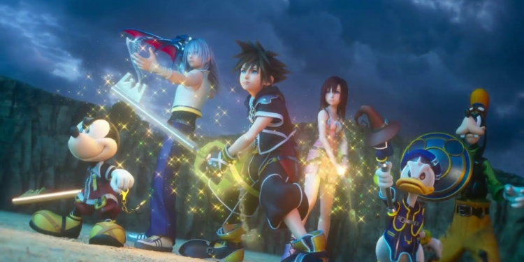Seluruh Francisce Kingdom Hearts Masuk PC lewat Epic Games