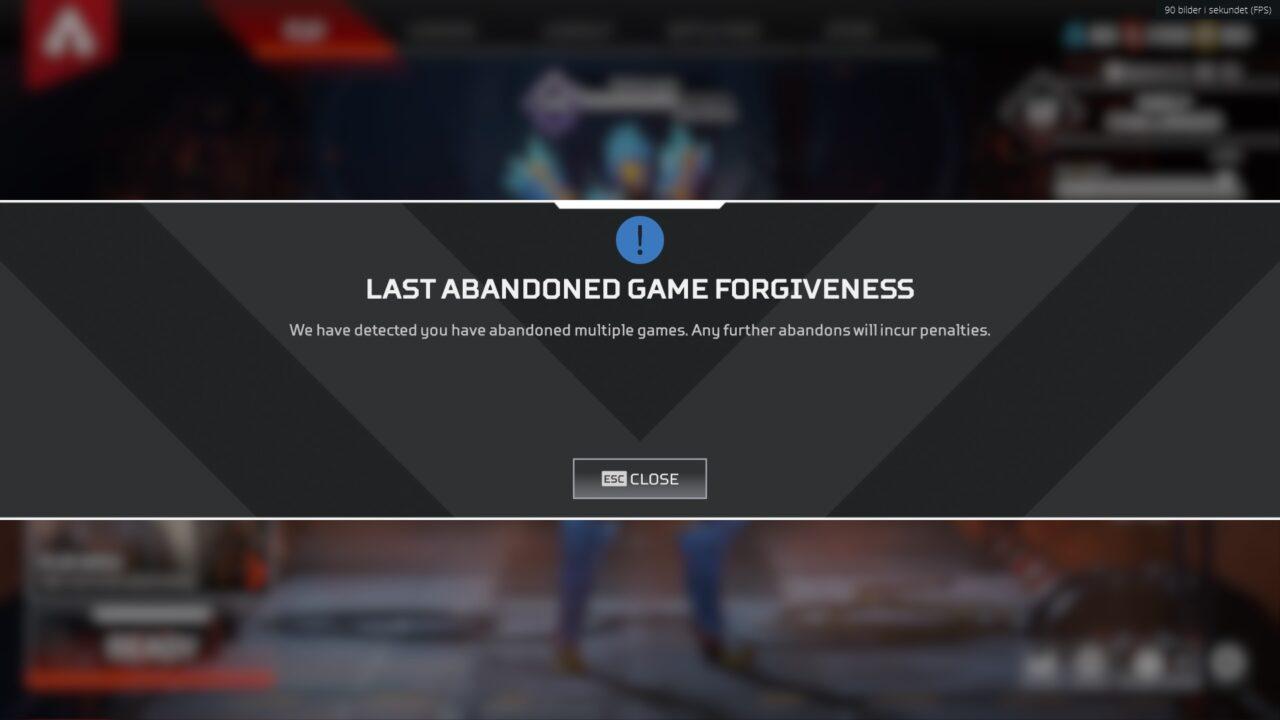 Apex Legends Banned