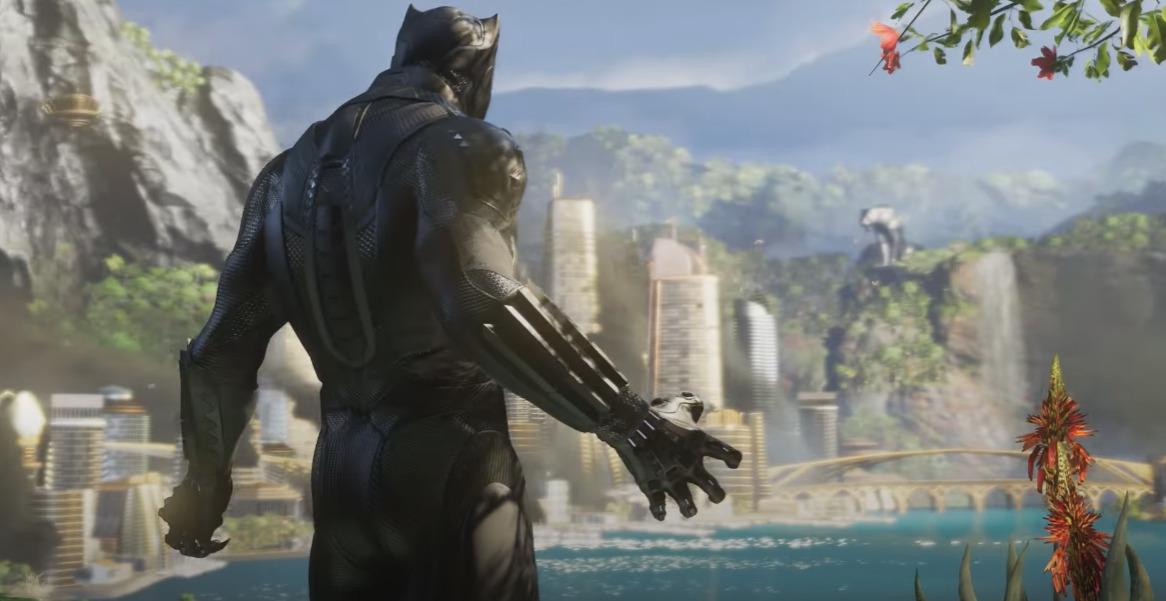 Black Panther Bergabung Ke Marvel's Avengers Gamedaim