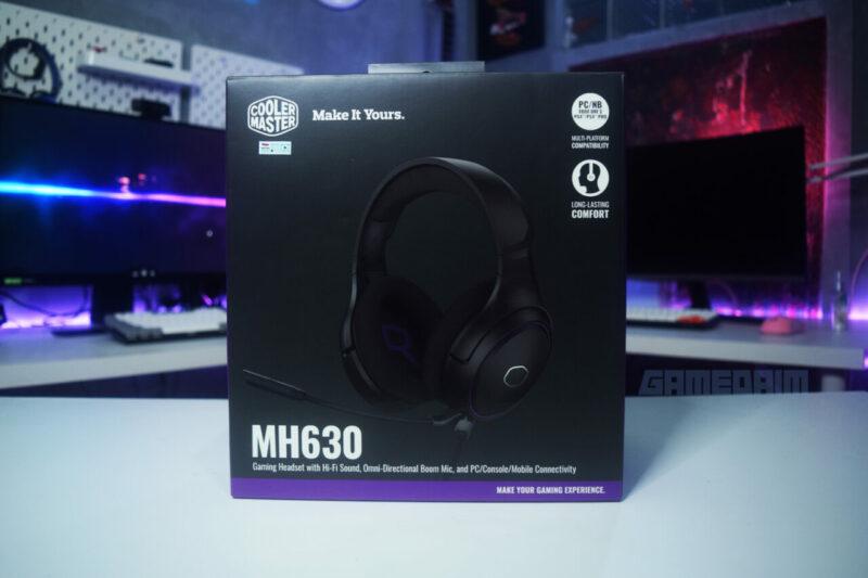 Cooler Master Mh630 Box Depan Gamedaim Review