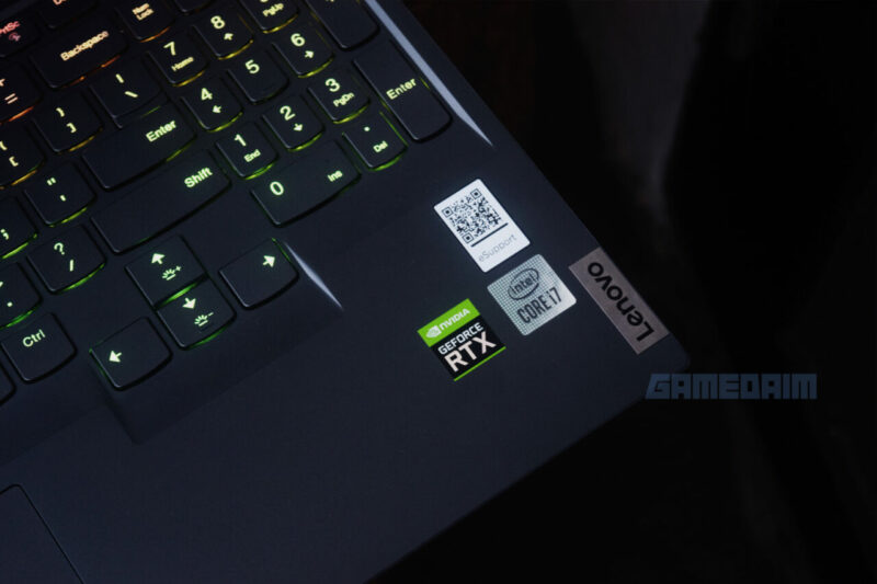 Lenovo Legion Slim 7i Label Gamedaim Review