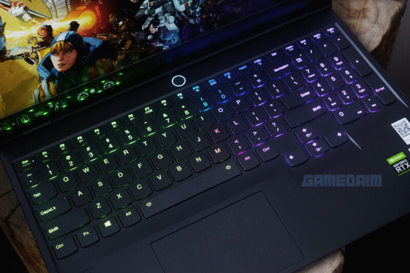 Lenovo Legion Slim 7i Truestrike Keyboard Gamedaim Review