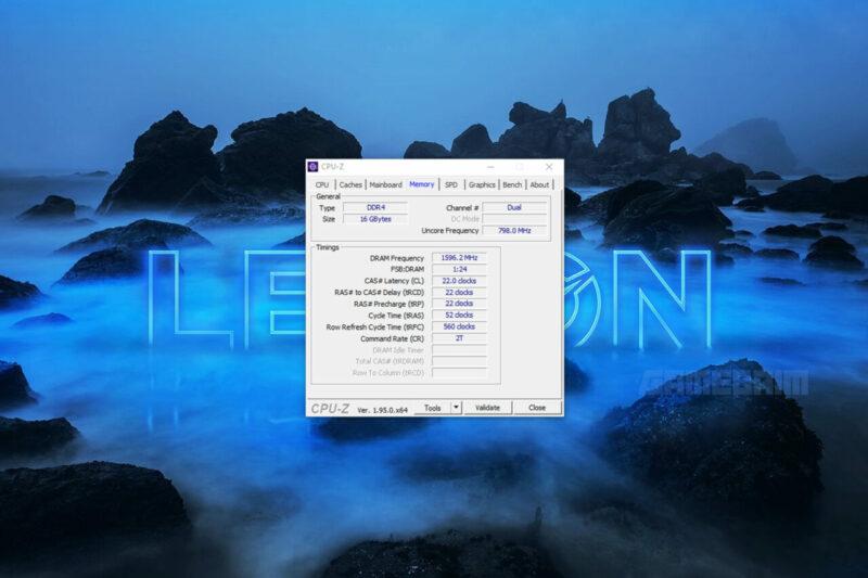Lenovo Legion Tower 7i Cpu Z Memory Gamedaim Review