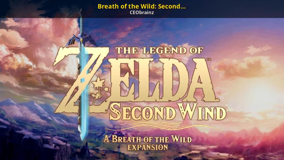 Modder buat Ekspansi Zelda: Breath of the wild   Gamebanana