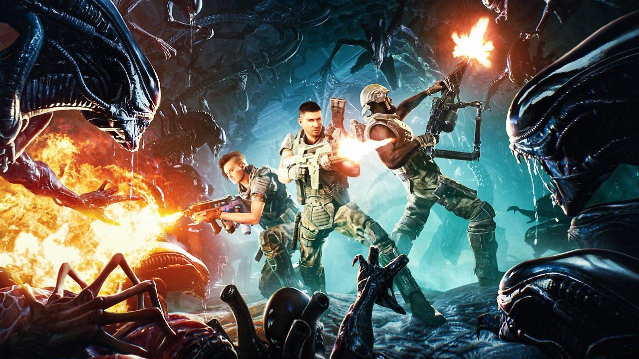 Game Co-Op Shooter Aliens: Fire Team Unjuk Trailer Perdana