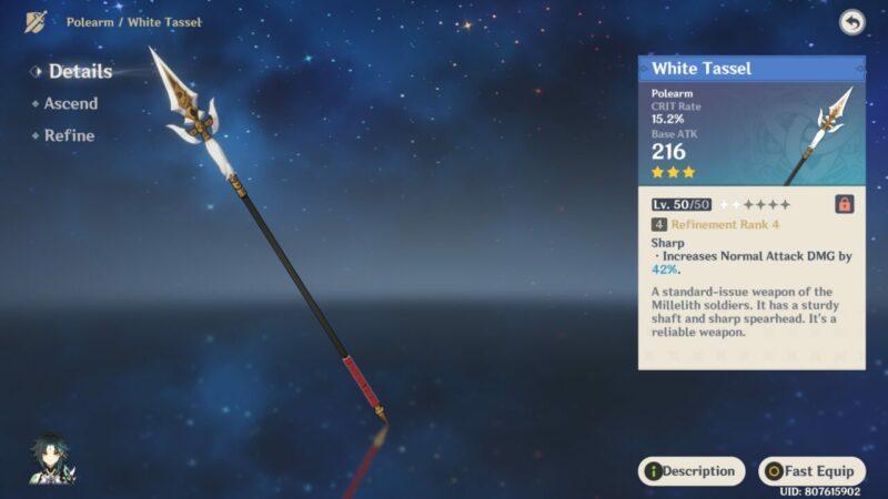 White Tassel | Senjata Bintang 3