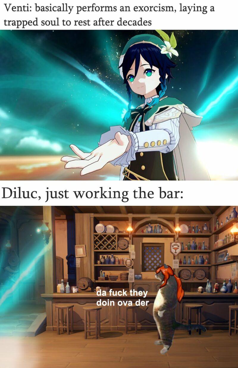 Genshin Impact Meme