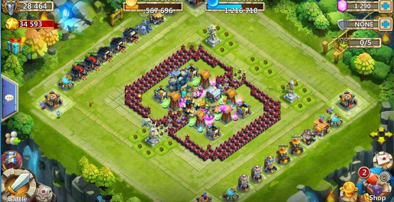 Begini Cara Top Up Castle Clash Pasukan Perkasa Dengan Mudah