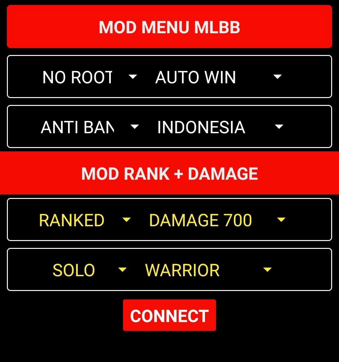 Download Mod Menu Mobile Legends Terbaru 2021! Fitur