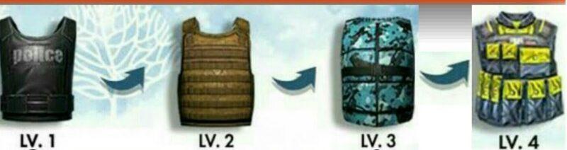 Item Looting Wajib Free Fire Vest