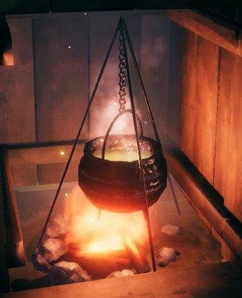 Kegunaan Cauldron   Valheim
