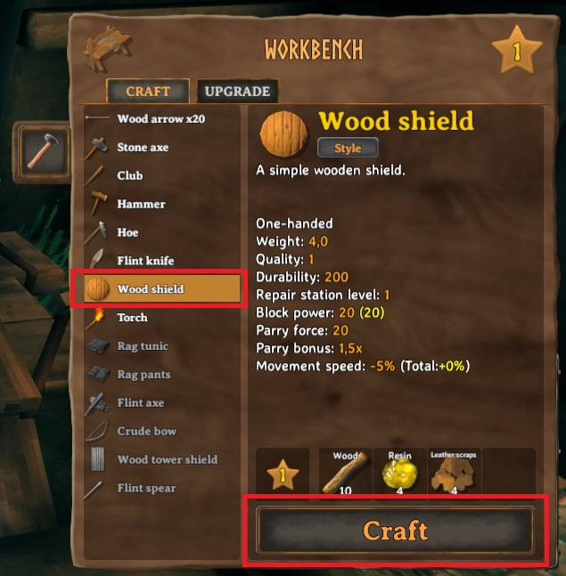 How To Craft A Shield In Valheim 3