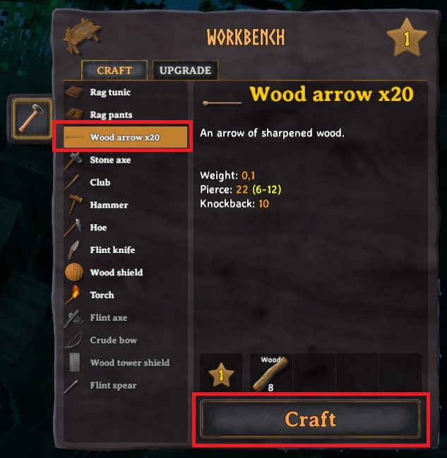 How To Craft Wood Arrow In Valheim 4