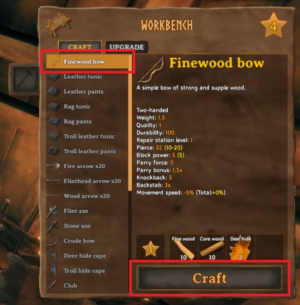 How To Make Finewood Bow In Valheim 3