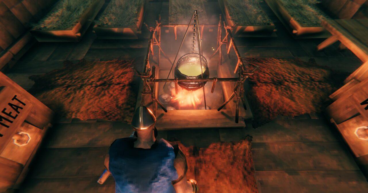 Cara Mudah Membuat Cauldron Pada Game Valheim | Iron Gate