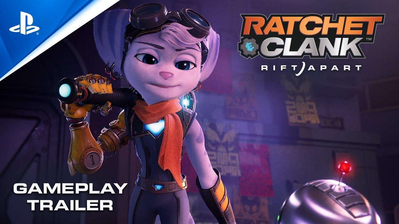 Rachet & Clank: Rift Apart Unjuk Trailer Baru, Fokus Pada Karakter Wanita   SONY