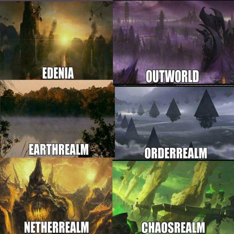 Berikut 7 Realms Yang Ada di Universe Mortal Kombat | Reddit