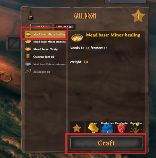 How To Make Mead Base Minor Healing In Valheim 4