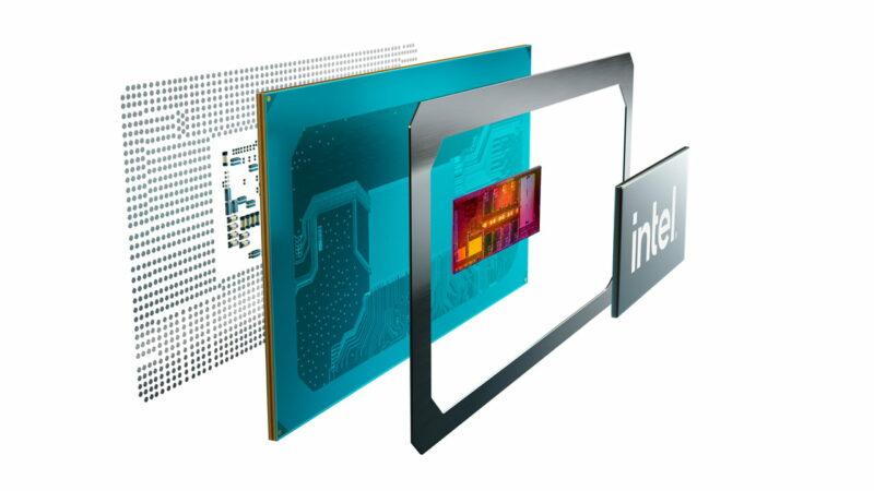 Intel Tiger Lake H Mobile Processor Component