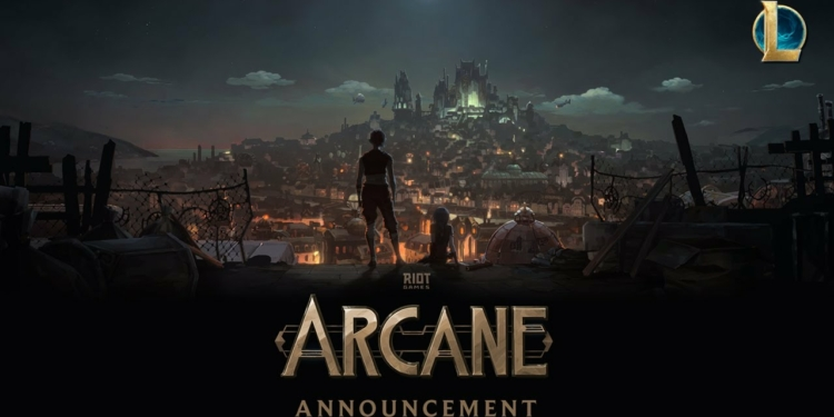 Serial League of Legends: Arcane Akan Hadir Lewat Netflix   Riot Games