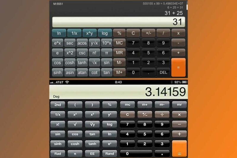 Nintendo Vs Iphone Calculator 2